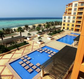 Full Sea View Apartment in Bay La Sun (Beach Tower) with a Large Terrace