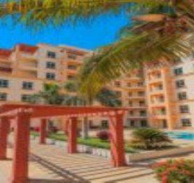 شقة سكنية في حي البيلسان مطلة على المسبح الخارجي بأبراج المارينا