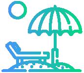 مرافق الشاطئ Icon